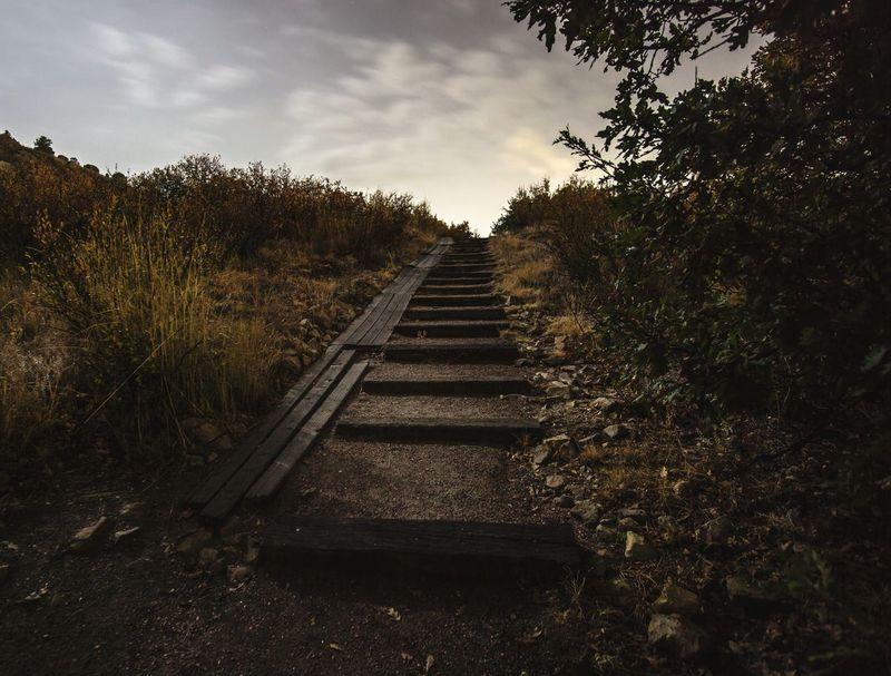 Stairs Steps Nighttime Nightphotography Night Goodnight Colorado The Great Outdoors - 2017 EyeEm Awards