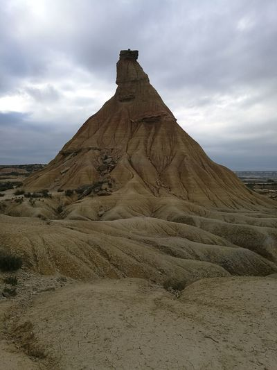 Bardenas Reales Bardenas Bardenasreales Desert Travel Destinations Landscape History Rock - Object Cloud - Sky Nature Day Scenics No People Beauty In Nature Statue Tourism Fotography HuaweiP9 Huawei P9 Leica EyeEm Best Shots Eyem Gallery EyeEm Nature Lover EyeEmBestPics Outdoors EyEmNewHere