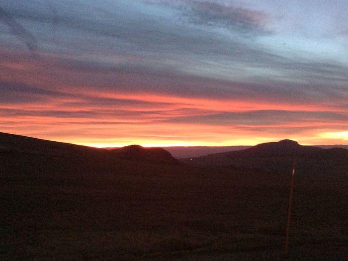 Sunset. No filter Landscape View Sunset