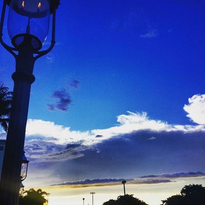 """Sometimes I wonder, """"CeeJay, why won't you stop taking pictures of the sky and sunset?"""" And then I realize that I'll stop taking pictures when the sky stops being so damn wonderful. Itsabeautifulevening Clouds Lantern Sky"""