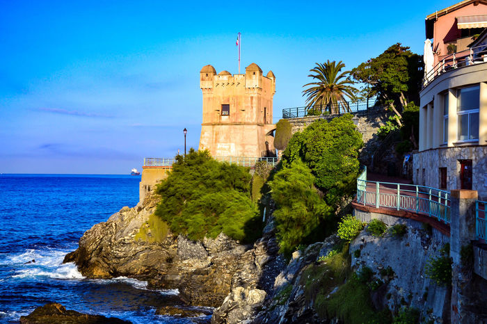 An Italian Secret Water Tourism Sea Landscape Italy Architecture Travel Path Genova