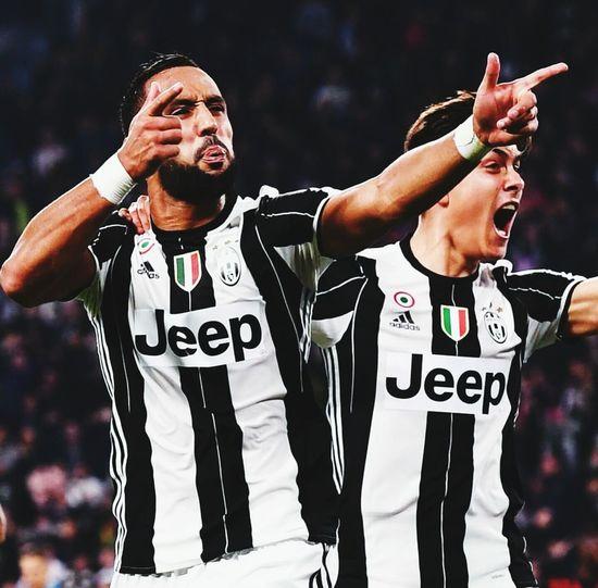 EyeEm Selects Excitement Winning Juventus Dybala Benatia Fc Juventus Funny Passion Football Sky Stadium JuventusFC Juventus Stadium Juventus Fan