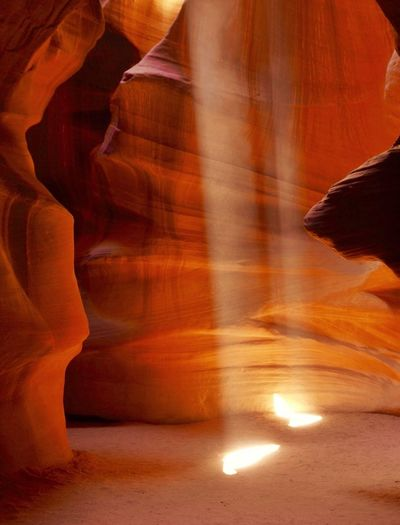 Antilope Canyon Antilope Canyon Rock - Object No People Indoors  Cave Physical Geography Beauty In Nature