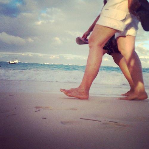 Playa, vacaciones! Beach Foot Beach Walk Sand