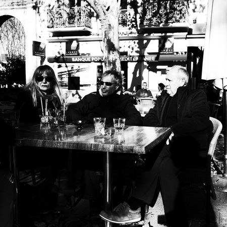 Noir Et Blanc Bar - Drink Establishment Blackadnwhite Cafe Day Drink Drinking Glass Food And Drink Food And Drink Industry Freshness Happy Hour High Contrast Leisure Activity Lifestyles Real People Restaurant Sitting Street Photography Streetphotography Table Togetherness Women