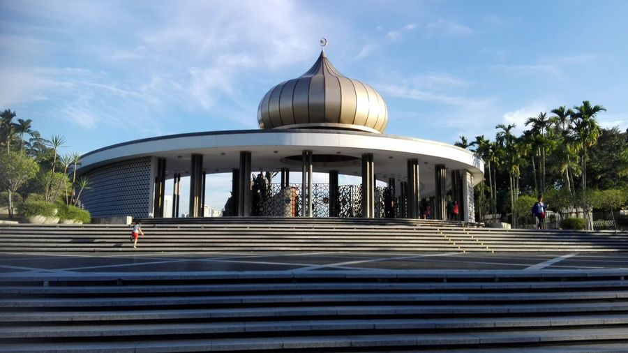 Malaysia heroes Monument Malaysia Truly Asia Travel Destinations Blue
