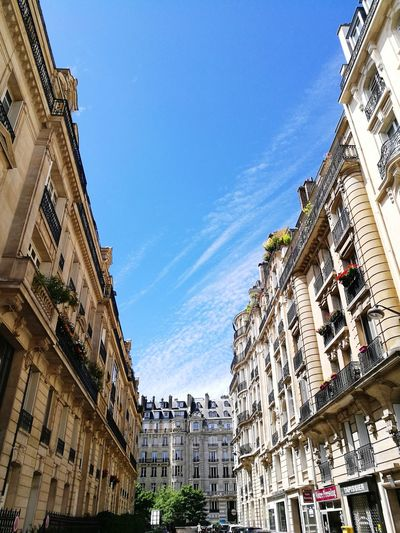 Architecture Building Exterior Built Structure Low Angle View Sky Day Clear Sky Paris, France  Paris ❤ City HuaweiP9 HuaweiP9Photography