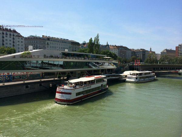 First Eyeem Photo The Purist (no Edit, No Filter) No People Ship Schiff Wien Vienna Oesterreich Austria Donaukanal