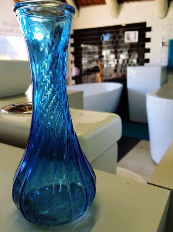 The Color Of Business Blue Bottle Showroom