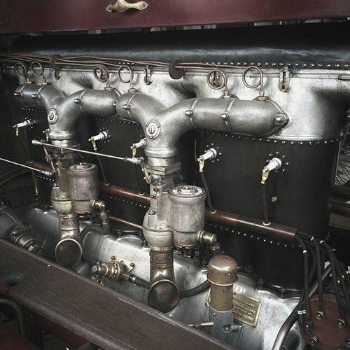 The massive Fiat engine block. @goodwoodrrc 74mm Fiat Vintage Racing Motorracing Classiccar Car