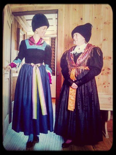 Traditional Dress South Tyrol Völs Am Schlern