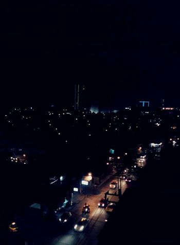 City lights at this moment.