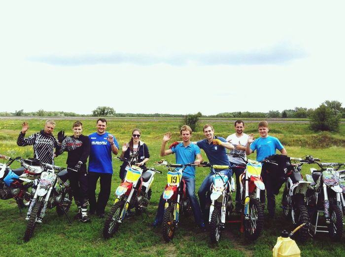 Hello raiders! Hi! Hello World Relaxing Pitbike Ukraine