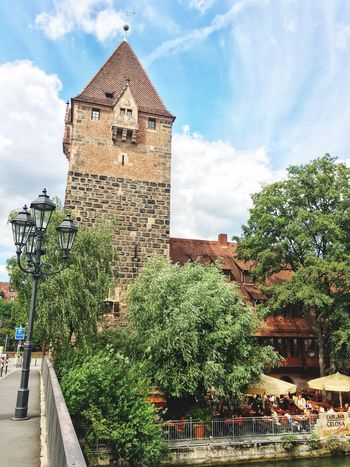 Tower Little Town Old Town Visiting Bayern GERMANY🇩🇪DEUTSCHERLAND@ Streetphotography Walking Around The City  Discover Your City Traveling Travel Photography Green Nature Lovely City Beautiful Beautiful Day