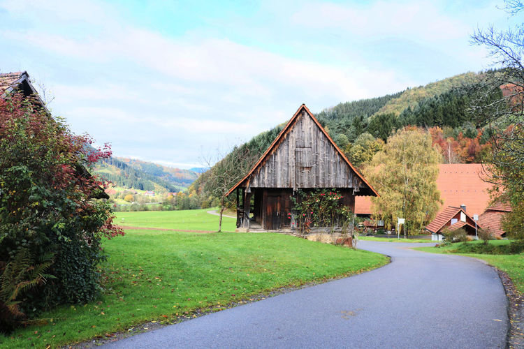 Black Forest Germany Breisgau Schwarzwald Architecture Environment Gutach Landscape Nature Outdoors