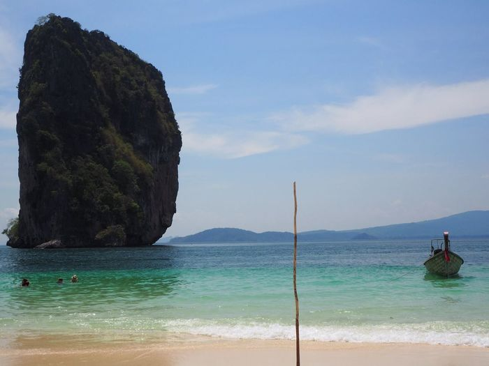 Scenic View Of Sea At Krabi