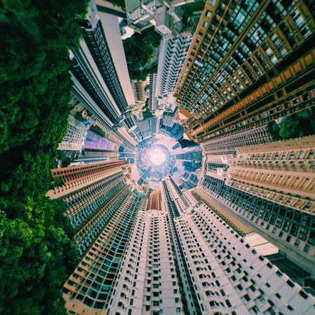 HK,城市