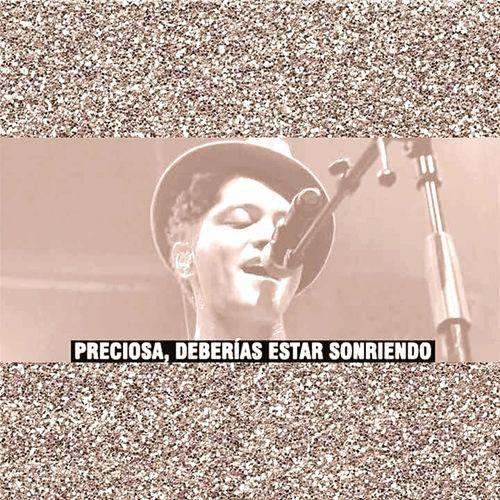 Que preciosoooo 👌😱😍😍😍 Me Encanta MarryMe? Perfection Bruno Mars preciosa deberias estar sonriendo ! 😩😢