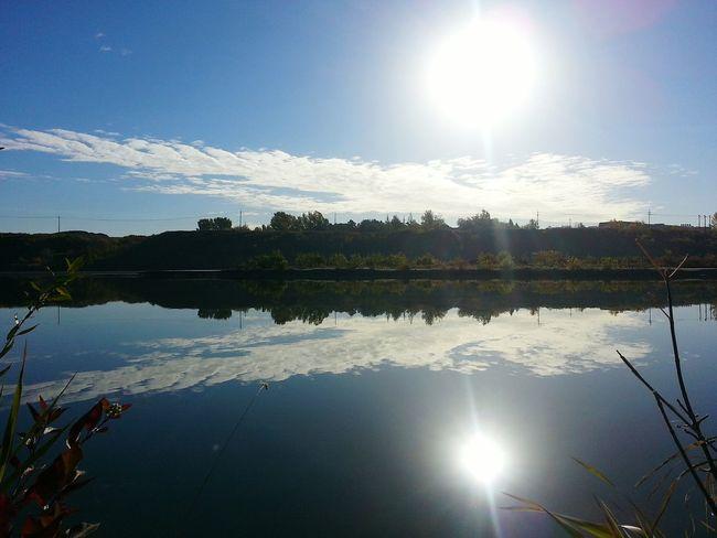 South Saskatchewan River Landscape #Nature #photography South Saskatchewan River Fall Season