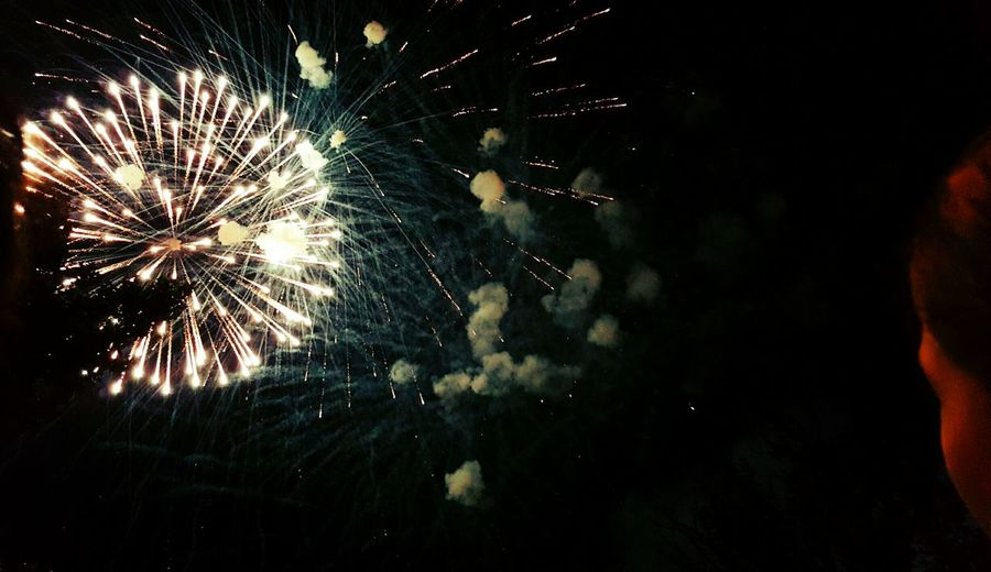 Wathing The Fireworks Fireworks Firework Summer Moments The Best Moments Nice Night Night Photography Night Event