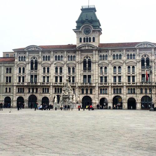 Trieste Italy🇮🇹 Piazza Dell'unità Architecture City Tourism City Life Travel Tourist Day Trip