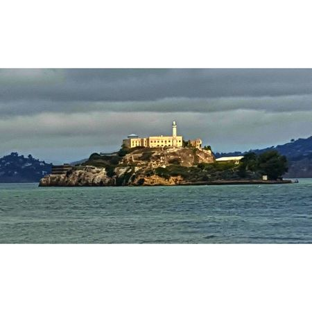 A fast Trip to San Francisco. About 5 hours south of my home. Took some pictures from a restaurant window. This is the the Alcatraz Island. Alcatraz Built Structure San Francisco Water Sea Sky Architecture Travel Destinations Outdoors Nature History