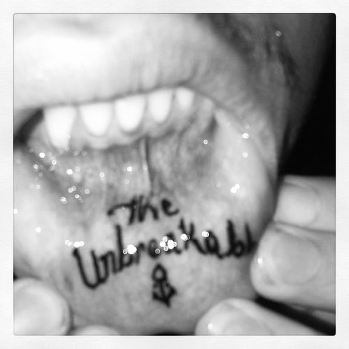 TheUnbreakable Anchors Ink Tatto LowerLip