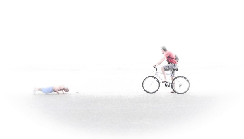 Bike Gymnastics NEM Submissions Beach Street Photography People Are People Eye4photography