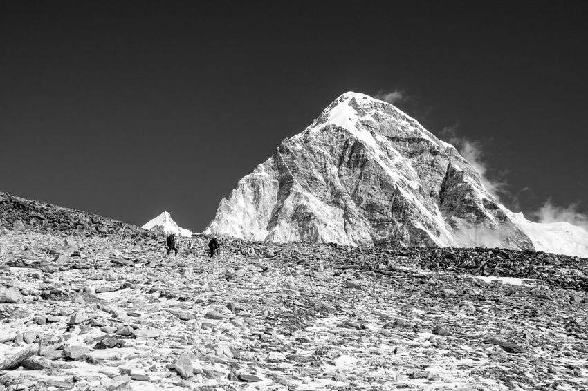 Connected By Travel Beauty In Nature Bw Bw_collection Landscape Mountain Nature Outdoors Tranquil Scene Tranquility