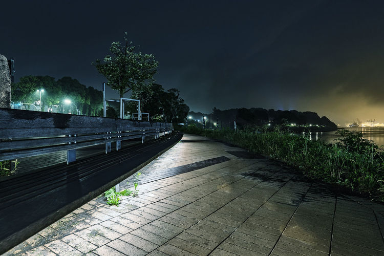 pedestrian walkway Elbe River Long Exposure Nightphotography Nikonphotography Plant Night Sky Architecture Tree Direction Nature The Way Forward No People Illuminated Built Structure Cloud - Sky Footpath Building Exterior Outdoors Empty Water Lighting Equipment City Building Paving Stone