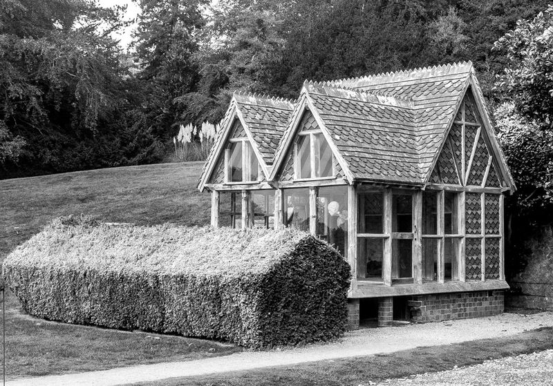 Wendy house, Tyntesfield, Bristol Tyntesfield Black And White National Trust Architecture