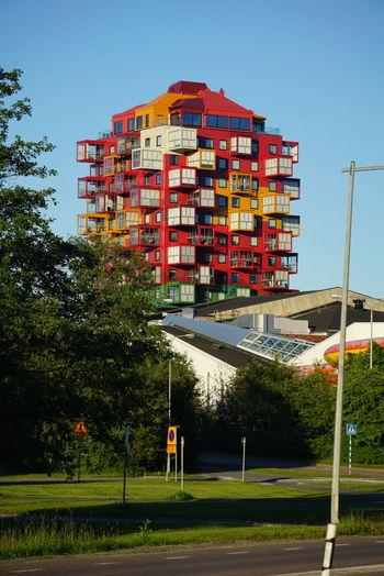 Örnsköldsvik Sweden No People Day City Built Structure Outdoors Building Exterior Architecture