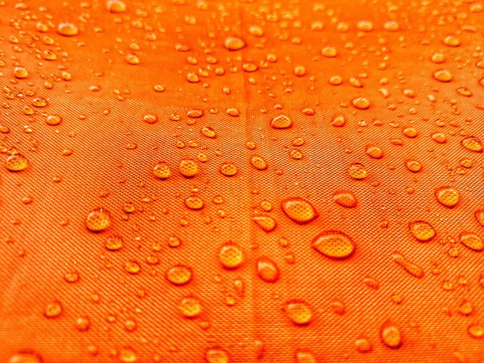 Liquid Raindrops Rain Water Waterdrops Orange Color Close-up Backgrounds Textured  Macro Drop Refreshment Full Frame Water Nature No People Day Freshness