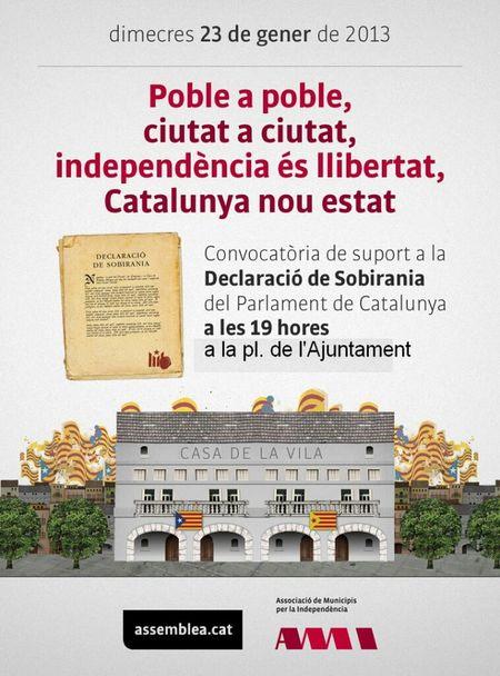 dimecres tots al carrer Freedom Catalunya Independencia