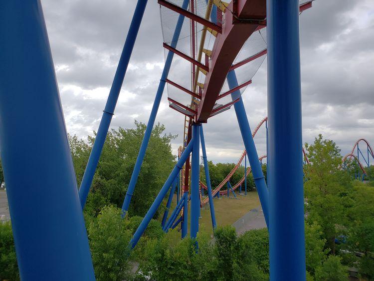 EyeEm Selects Tree Childhood Amusement Park Sky Cloud - Sky Rollercoaster