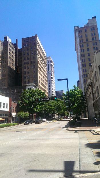 Hanging Out Walking Around Cityscape Downtown