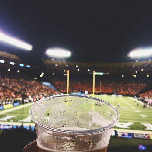 Beer & football aka heaven sent combo
