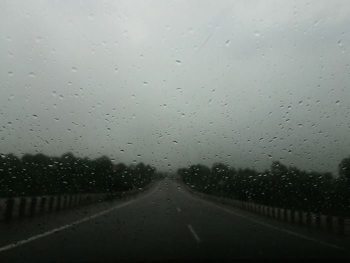 road trip in rain. Rain Drop Rain Rainy Days Unforgettable On Road Photography On Road Rainy Raining Day Raindrops Rainy Day Rain Drops Raining Rainy Days☔ Rainy Road Rainy Way In Car Moment Unforgettable ♥ Unforgettable Moment Beutiful  Beauty In Nature Weather Weather Photography Awsome Day ♥ Awsome!