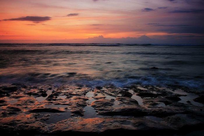 Sunset Beauty In Nature Sky Horizon Over Water Landscape EyeEm Selects Beautylombok Lombokisland INDONESIA