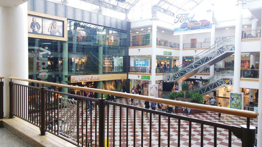 Shopping Mall Whitgift Centre Croydon Shopping Center Summertime Summer2016