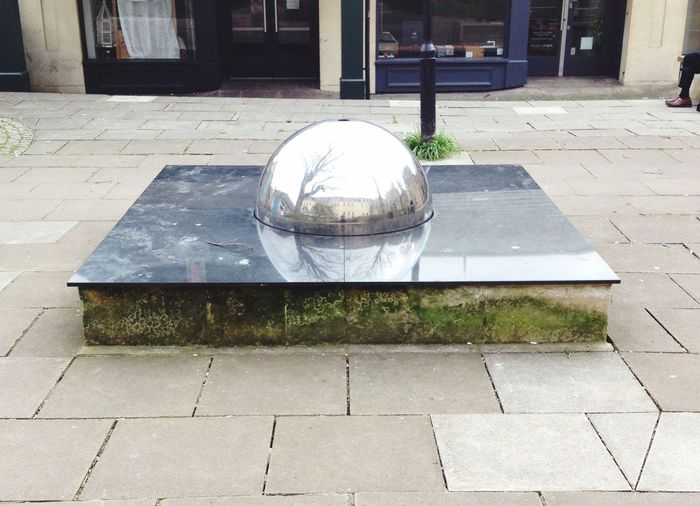 Modern Sculpture City Of Bath Optical Illusions Beautiful Reflections Reflection