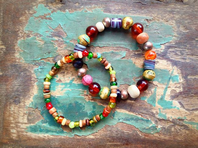 Be the colours. Bracelet Multi Colored High Angle View Close-up Bead Bracelet TCPM Awehaven Creative Light, A Love Affair