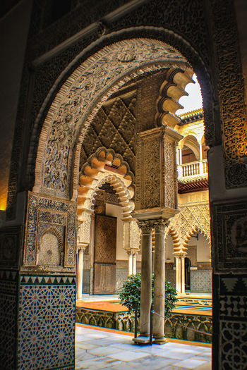 La alineación de los arcos Check This Out EyeEm Gallery Framed Reales Alcazares De Sevilla Travel Arabic Style Arch Architectural Column Architecture Day Eye4photography  History Indoors  No People Realesalcazares Travel Destinations