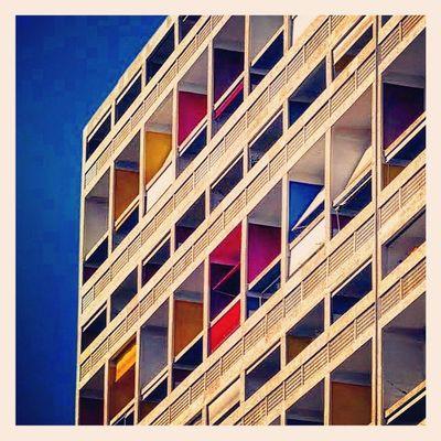 Cité Radieuse Nikonfr Nikonfrance Marseille Architecture Cite Marseillerebelle Lecorbusier Archilovers Rooftop Vintage Exponewhotel13 Igersmarseille France Colors Méditerranée Exponewhotel2015
