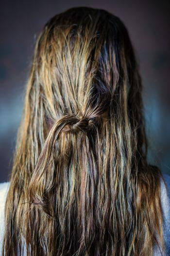 Hair 1 Blond Hair Braided Women Rear View Human Hair Long Hair Females Headshot Hairstyle Close-up Hair Hair Care Hairdresser