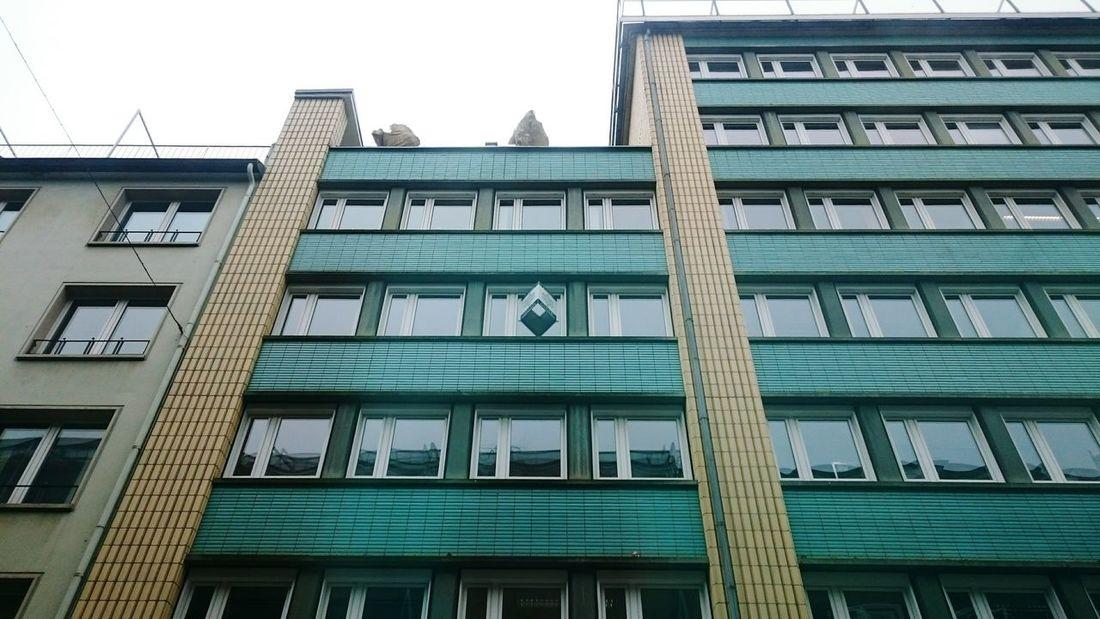 City Geometry In Düsseldorf. Spring should come soon