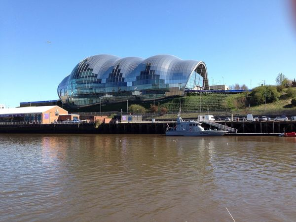 The Sage Newcastle Quayside Newcastle River Tyne
