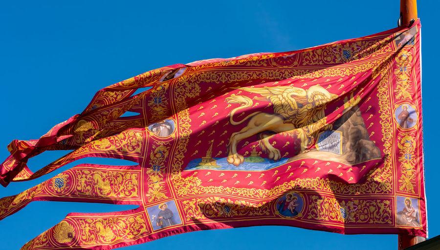 Venetian flag.