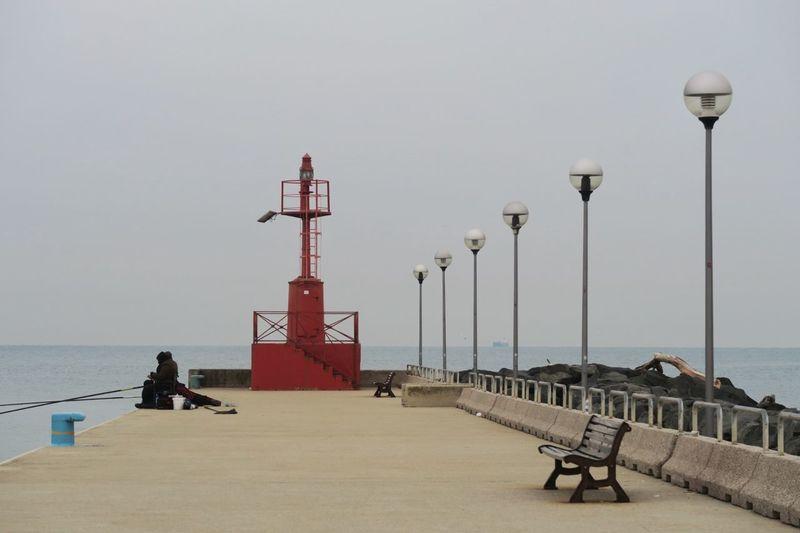 Wharf Sky Day