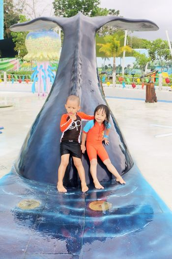 Adorable Kids Beatiful Place Childhood Cute Kids Happy Kids Leisure Activity Real People Water Park